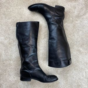 Franco Sarto L-Rider Leather Riding Boots